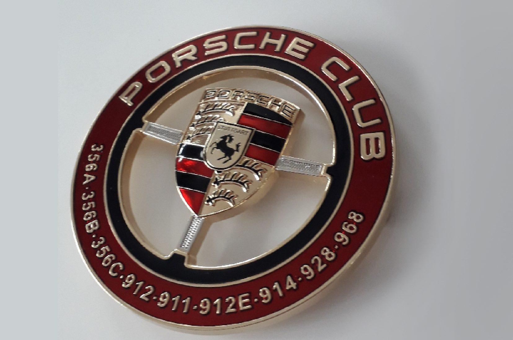 Écusson Porsche Club